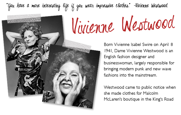 A World Of Fashion And Vivienne Westwood Adri S World